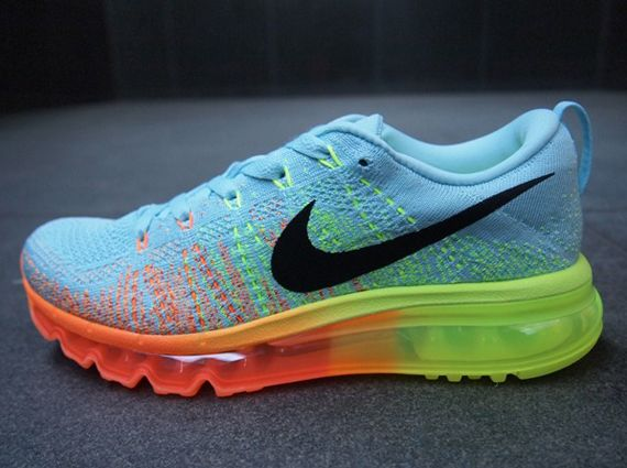 Buy Authentic Nike Flyknit Air Max Cheap sale Glacier Ice Atomic