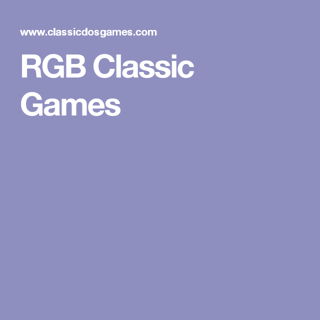 Free download of classic PC games  Online emulator to play