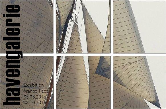 #Franco Pace Ausstellungsplakat Light & Sails #Segeln #Yacht #Yachtfotografie #Pace #Fotos #Regatta