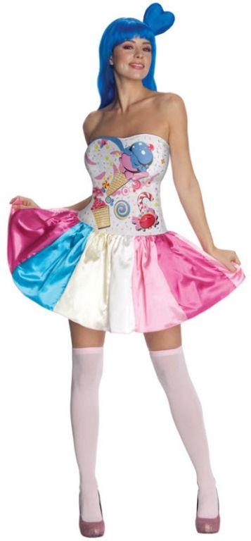 Women\u0027s Katy Perry Candy Girl Costume Concert Costumes Pinterest - halloween girl costume ideas