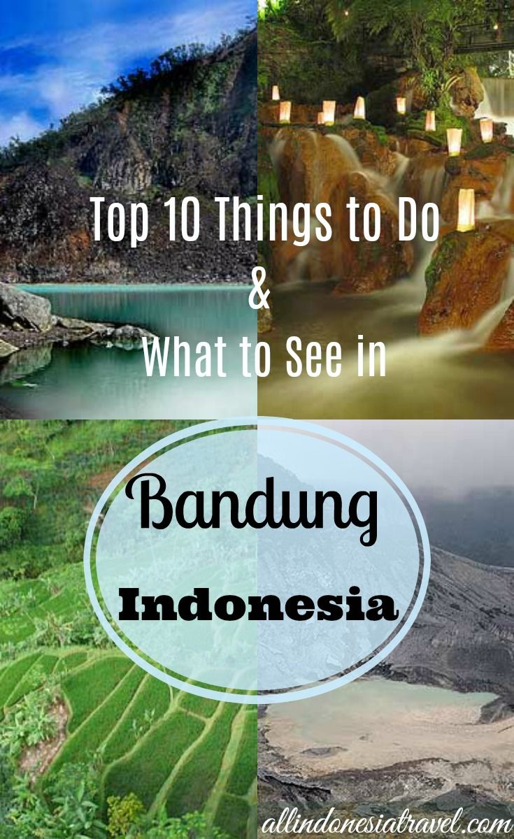 Top 10 Things to Do and What to See in Bandung |  Bandung is a well-known place in Indonesia and to travelers in Java especially. There are many things to do in Bandung and it is not short of attractions to see. Many locals will recommend going there for shopping, food and cool respite. It is a popular weekend destination for those who want to escape the hustle and bustle of Jakarta. Many travelers would say they have their best Indonesian experience here. |  http://allindonesiatravel.com