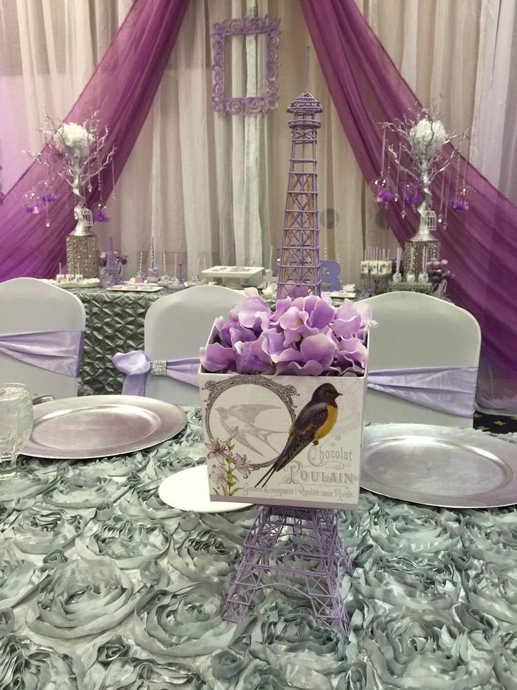 French  Parisian Quinceaera Party Ideas in 2019  Party  Quinceanera Paris birthday