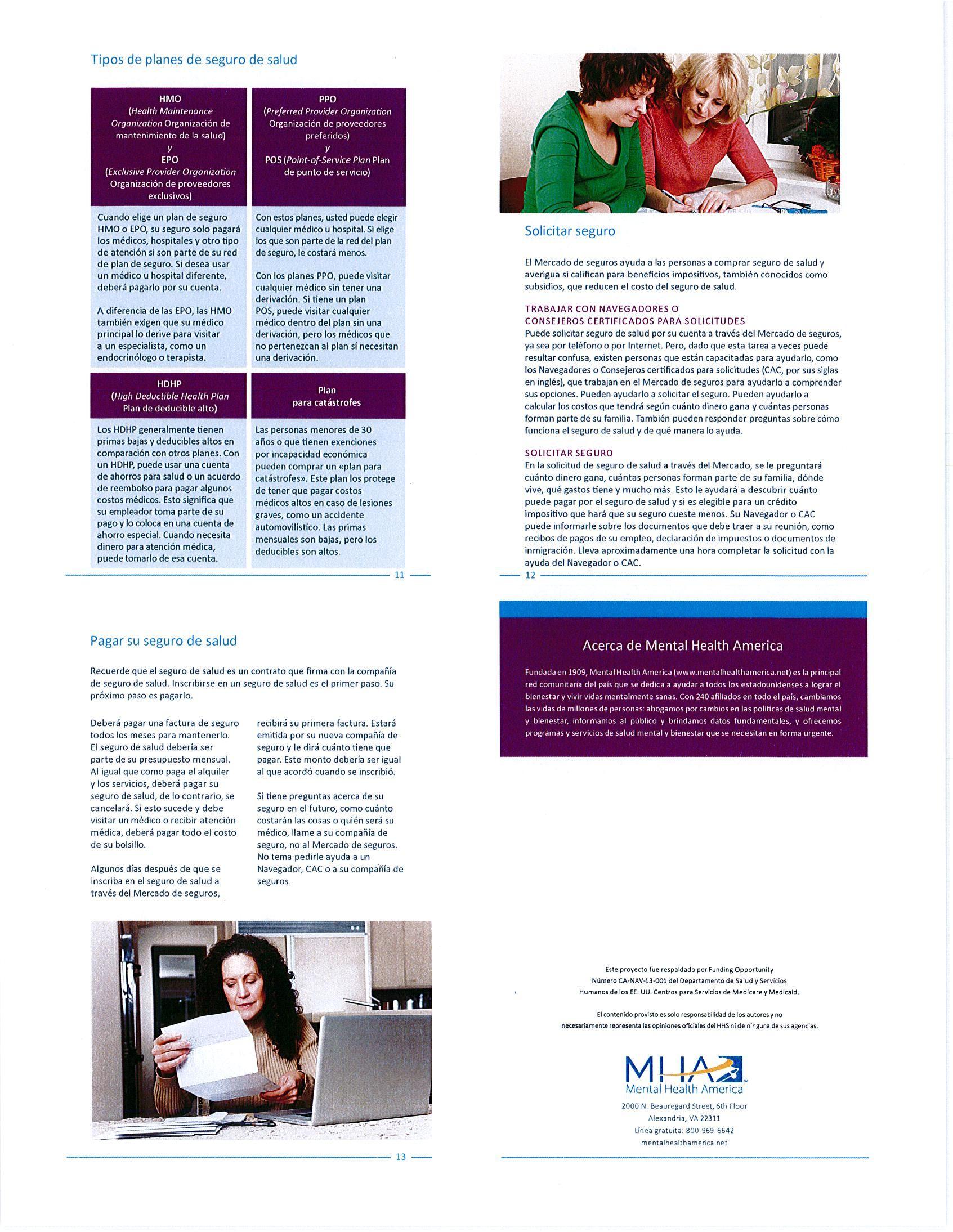¿Cómo funciona el seguro Brochure-Español (páginas 13-16 ...