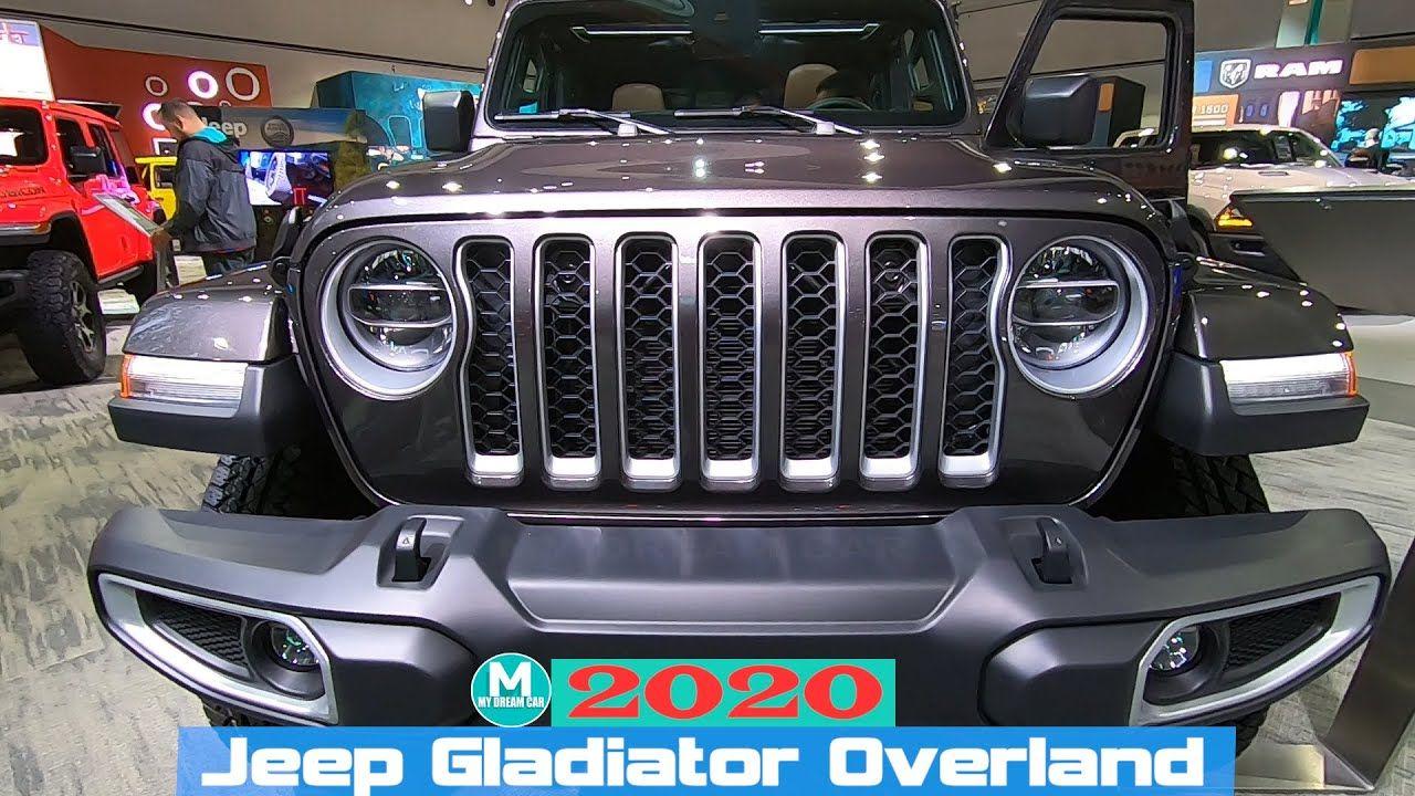 2020 Jeep Gladiator Overland Exterior Inter