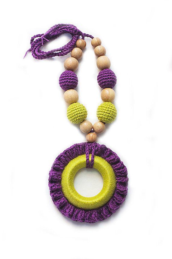 crochet necklace | bijoux | Pinterest | Collares en crochet ...