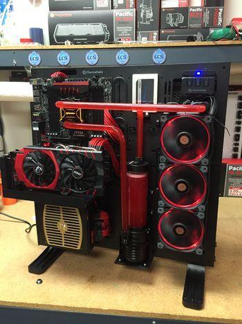 Thermaltake Core P5 Owners Club Custom Pc Computer Build Computer Setup