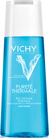 Affordable skin care: Vichy Purete Thermale Hydra Perfecting Toner. Alcohol free, so it doesn't dry out skin. Really refreshing.