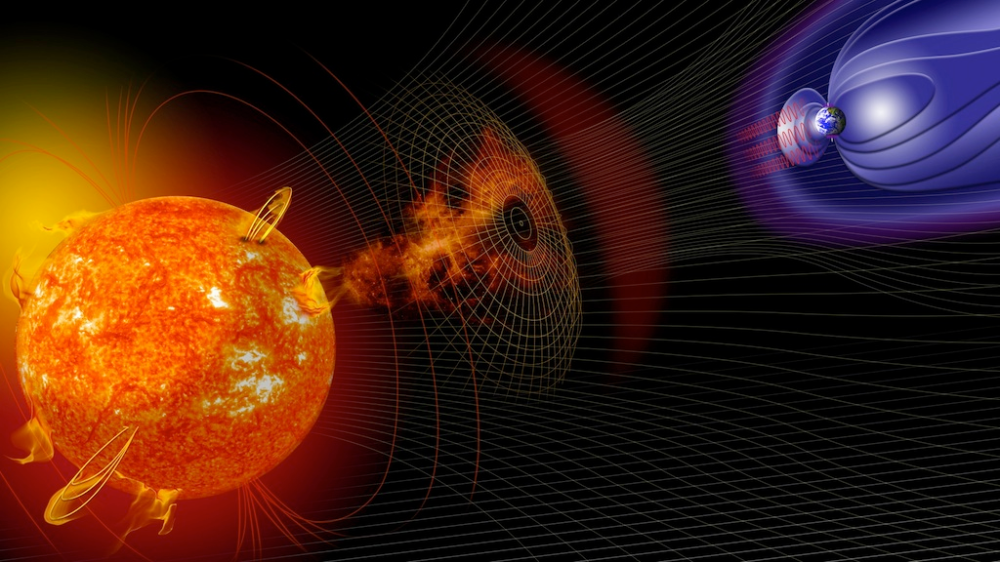 Nasa Viz Rattling Earth S Force Field End Of The World Solar Material Earth