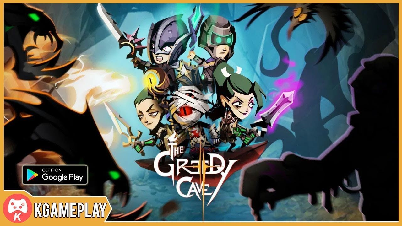 The Greedy Cave 2 Time Gate Gameplay Android iOS