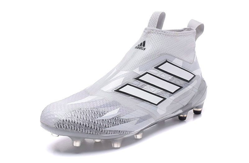 64612a345d3 2018 World Cup adidas Ace 17+ Purecontrol FG Clear grey White Core black