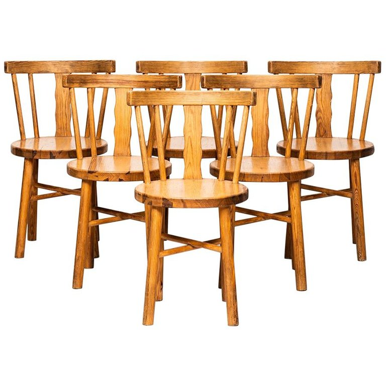 Strange Set Of Six 1Stdibs Dining Room Chairs Dining Produced Ocoug Best Dining Table And Chair Ideas Images Ocougorg