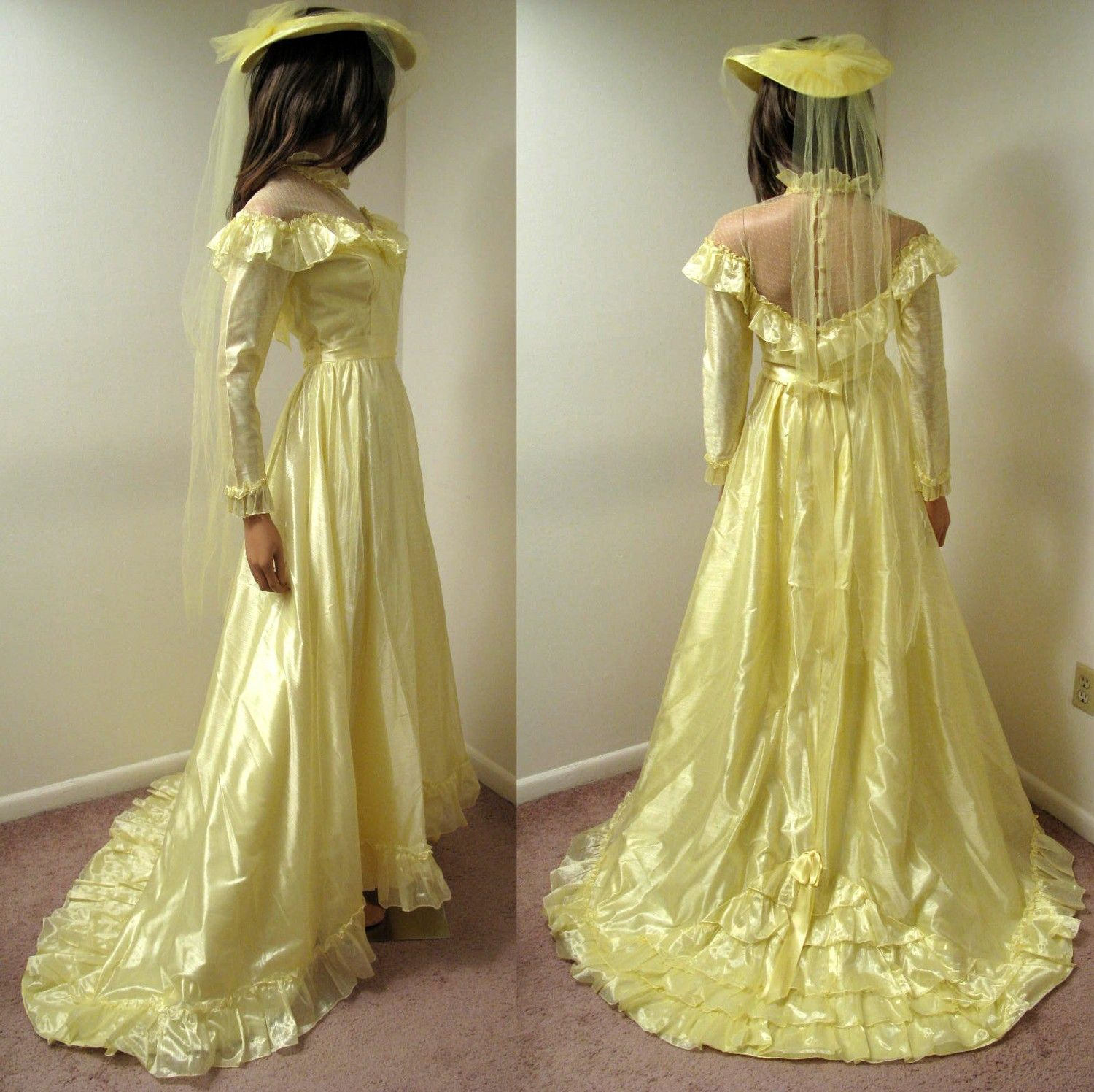 yellow wedding dress Cavendish Mechanics Louisanna outfit 3 I want this Steampunk Pinterest Victorian Wedding and Victorian era