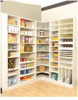 Typical Pantry Shelving Provided By Contractors Often Lacks Adjustability  And Doesnu0027t Fully Utilize The Space. A Custom Valet Solution Will Increase  Storage ...