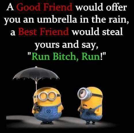 Minion Best Friend Quote