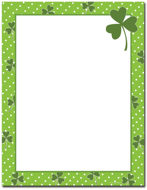 St Patrick S Day Stationery
