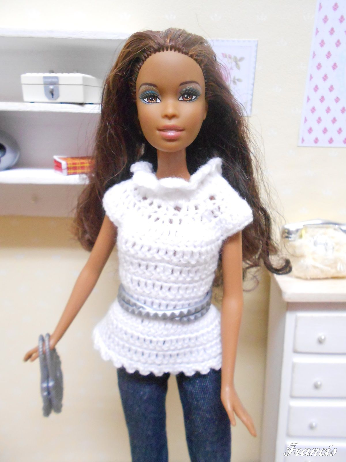 Pin de Francis Franch en Barbies + Crochet | Pinterest | Barbie ...