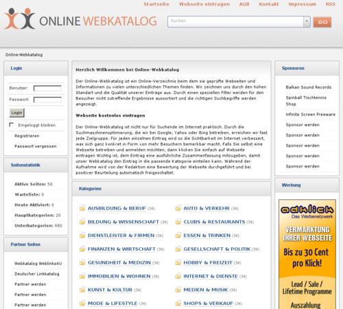 Homepage Kostenlos Eintragen : der online webkatalog ist ein webverzeichnis in dem jeder kostenlos seine webseite ohne ~ Yuntae.com Dekorationen Ideen
