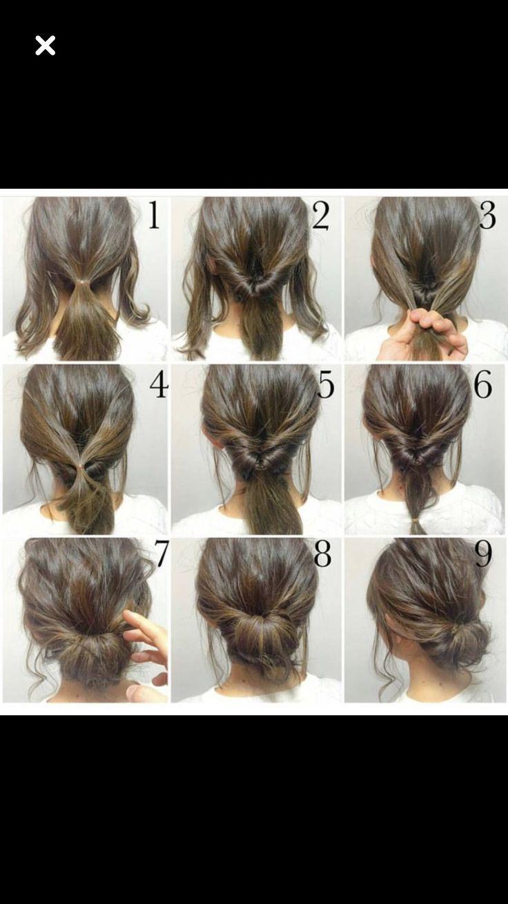 Hair Tutorials Beverly Ennis Hoyle Chignon Hair Hair Tutorial Easy Chignon