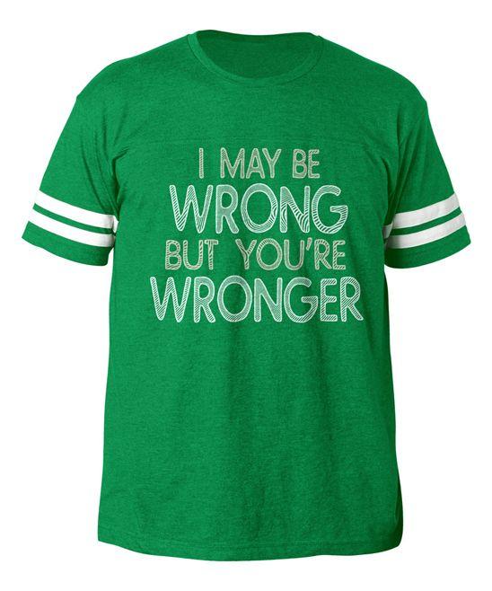 Vintage Kelly 'Wronger' Football Tee