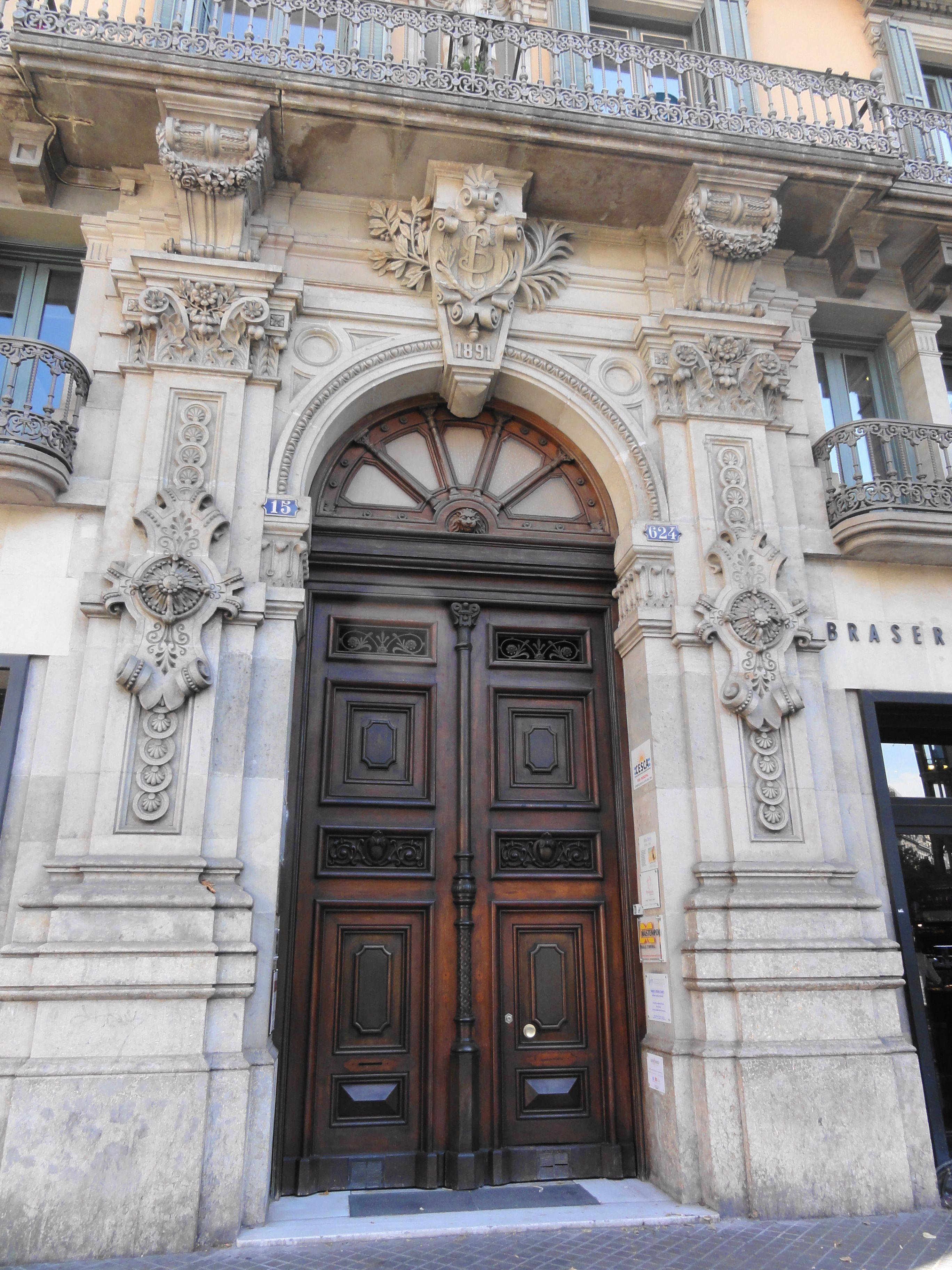 Neoclassical Architecture, Wooden Door Design
