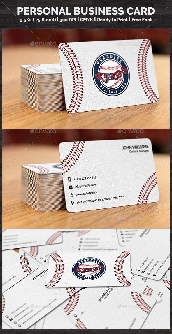 Personal business card baseball cards business cards and behance baseball card on behance creative business cardsbusiness colourmoves
