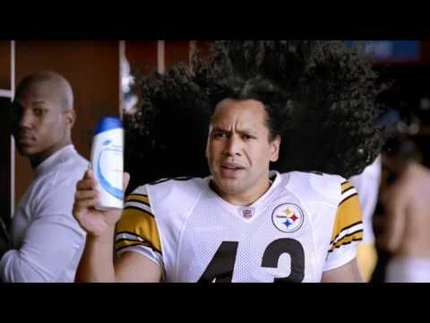 Head And Shoulder S Commericial Troy Polamalu Steelers Girl Pittsburgh Pride
