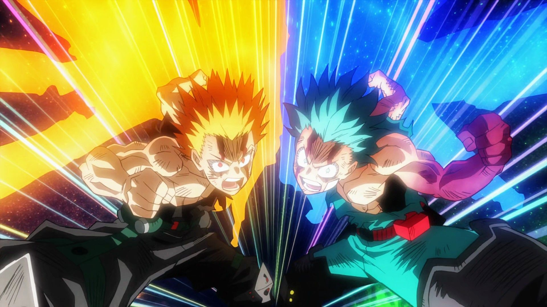 Bakugo Izuku Detroit Smash My Hero Academia Episodes My Hero My Hero Academia