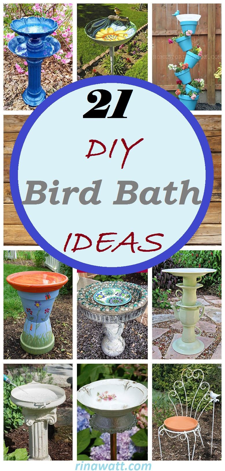 21 Easy And Beautiful Diy Bird Bath Ideas To Enhance Your Yard Recently One Of