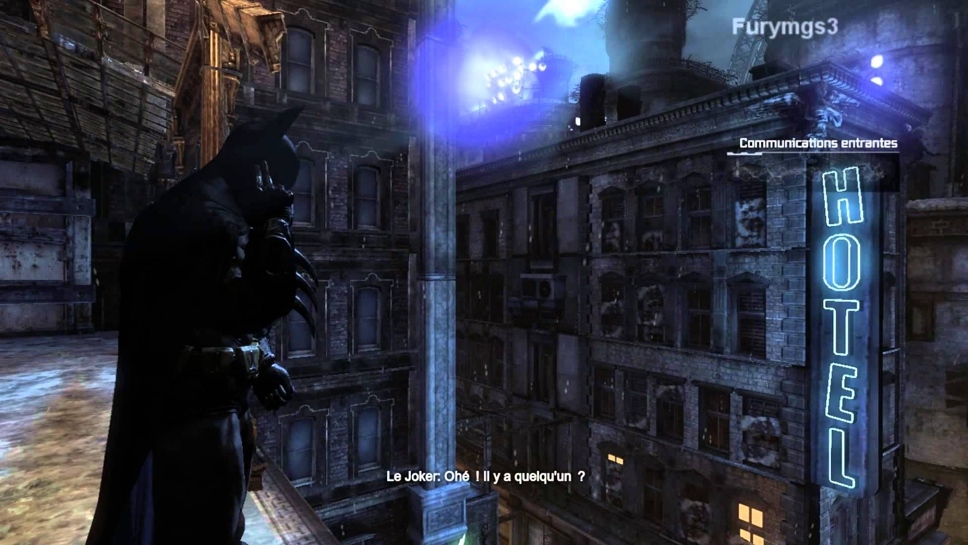 Batman Arkham City part 30 VF Hugo Strange
