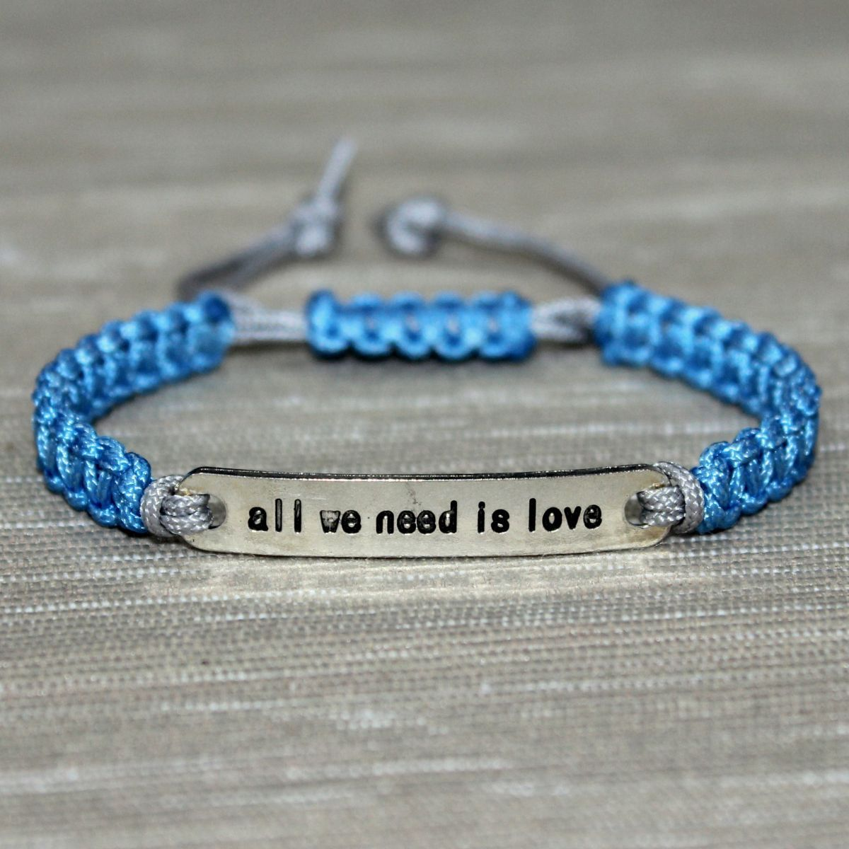 personalized gift custom inspirational pin secret quote bracelet jewelry message