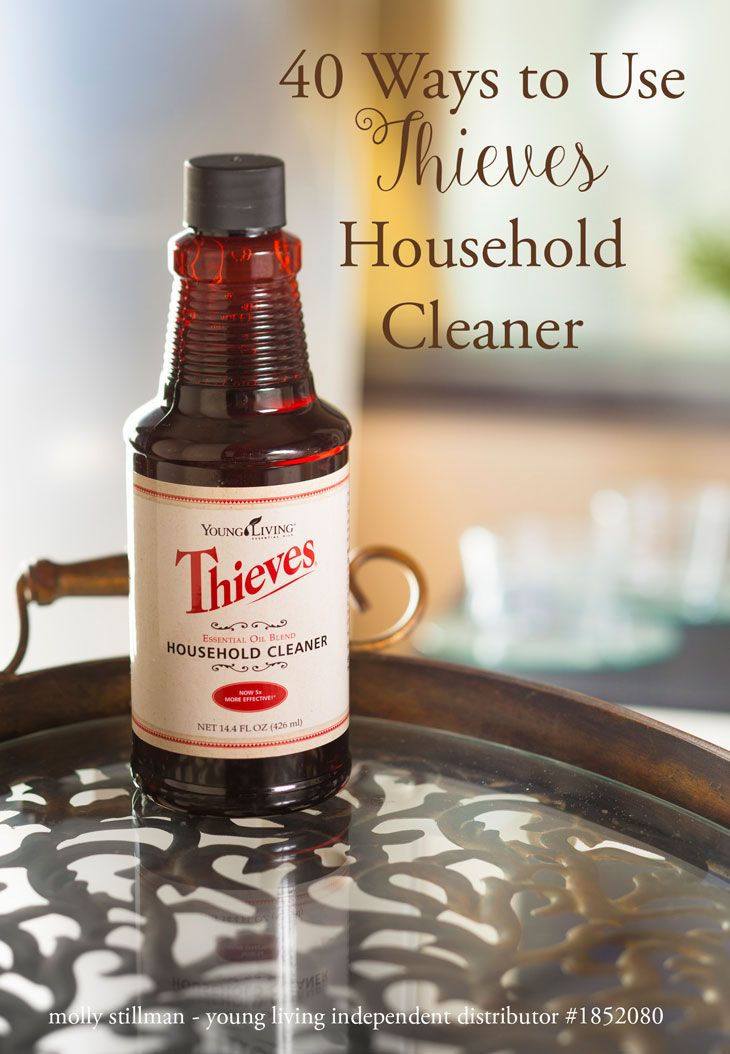 40 Uses For Thieves Cleaner Essential Oils Cleaning Essential
