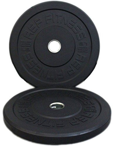 Rep Bumper Plates for CrossFit and We…