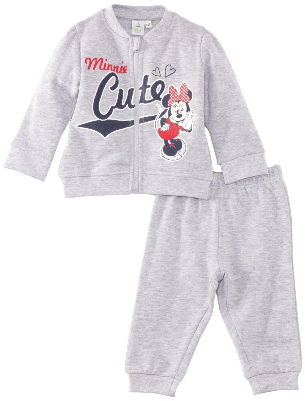 29724dac3 Disney Minnie Mouse Baby Girls' Tracksuit Set: Amazon.co.uk: Clothing