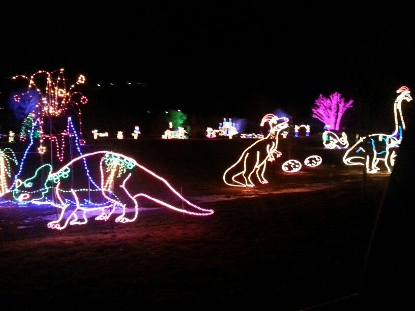 Spanish Fork Festival Of Lights Festival Lights Utah County Neon Signs