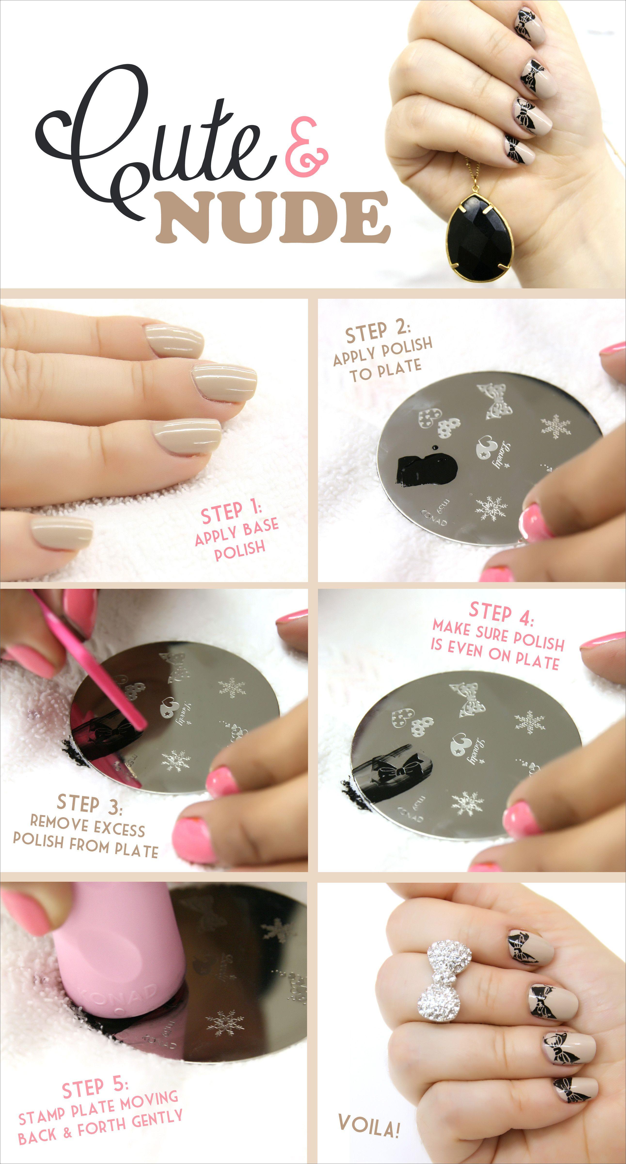 plate nail polish - zzkko.com | Makeup & Nails & Hair | Pinterest ...