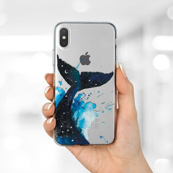 Space Whale case iPhone 11 Pro Max Moon Stars case iPhone 11 | Etsy
