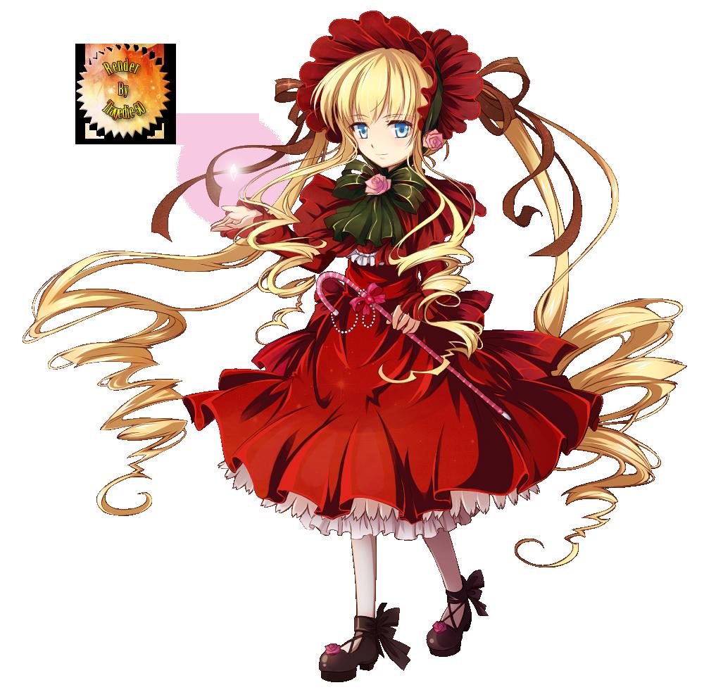 Render Rozen Maiden - Renders Rozen maiden shinku peach pit poupee