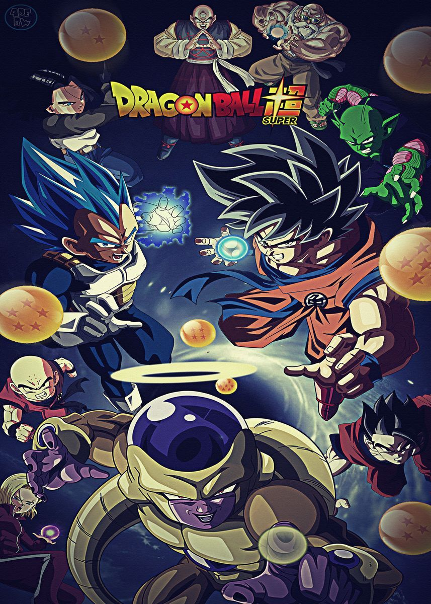 'Dragon Ball Z Super Dbz ' Poster by JaydonRempel   Displate