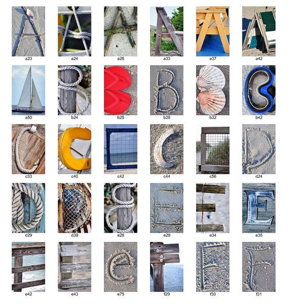 beach nautical letter photos individual 4x6 color letters alphabet photography beach letters and photos beach photography