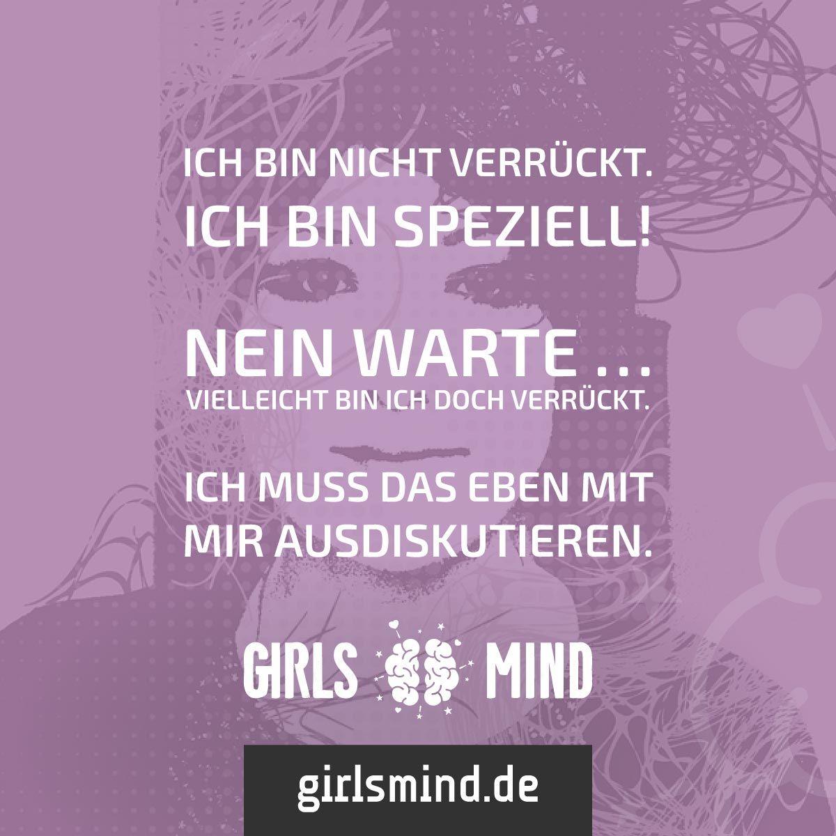 Wer ist schon normal? Mehr Sprüche auf: www.girlsmind.de # ...