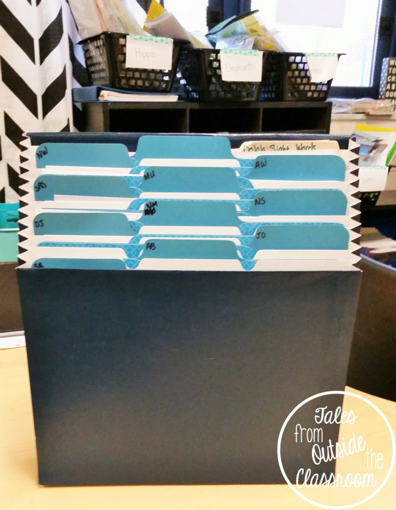 A stadium file helps you organize file folders you need to access quickly and easily.