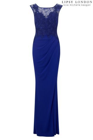 fc693238fa Buy Lipsy Love Michelle Keegan Lace Appliqué Maxi Dress from the Next UK  online shop