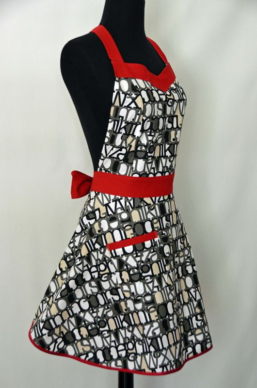Sweetheart Chic Apron Pattern Stitchin' For The Dining Room Amazing Apron Sewing Pattern