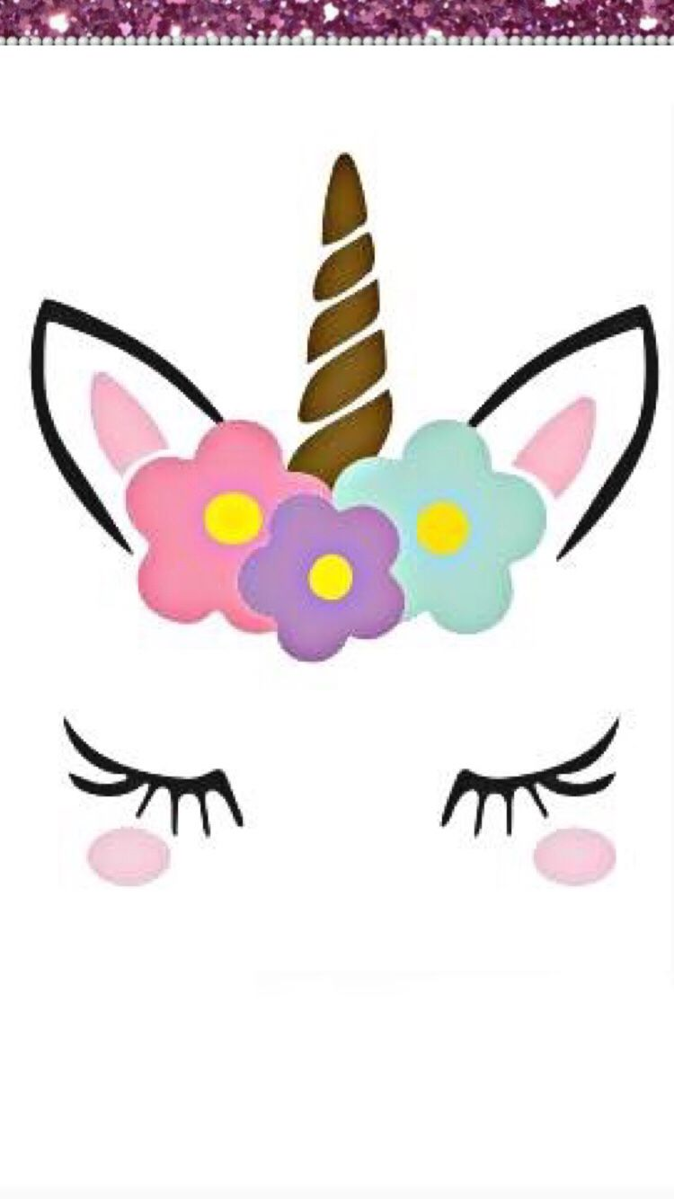 Super cute unicorn face for crafts k nslor pinterest for Cuarto de unicornio