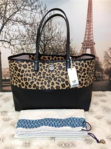 4a636dc173df NWT $295 Tory Burch Kerrington Shopper Ocelot Leopard Tote Bag Handbag Purse  in Clothing, Shoes & Accessories, Women's Handbags & Bags, Handbags &  Purses   ...