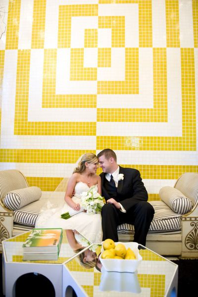 yellow and white - quilting inspiration!