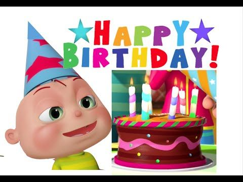 Happy Birthday Song Kids ABC Songs Nursery Rhymes For Children