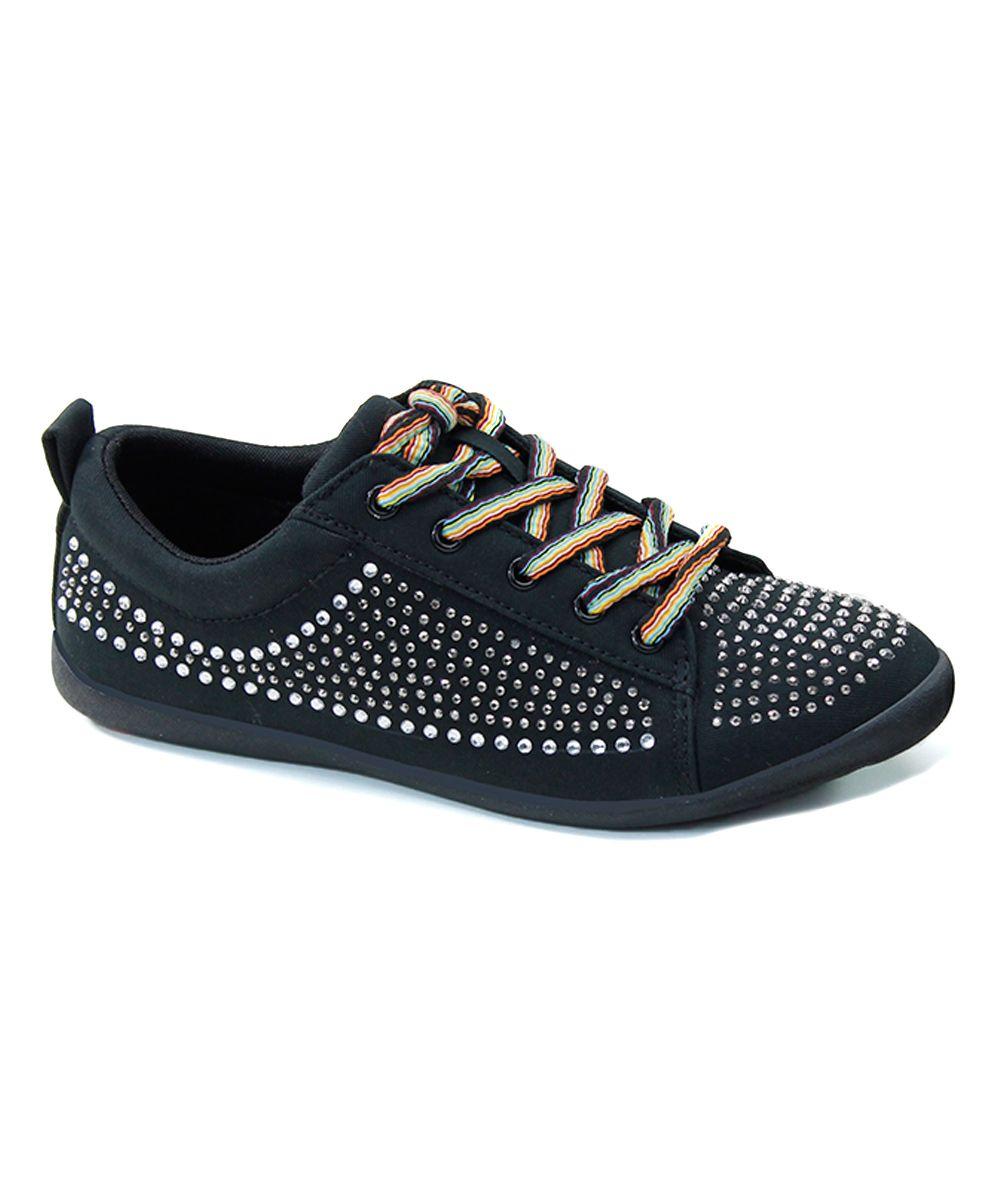 df521192ed35f5 Black Rhinestone Sneaker