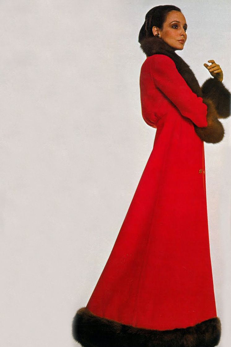 Dal & Co for Valentino by Barbieri Vogue 1969