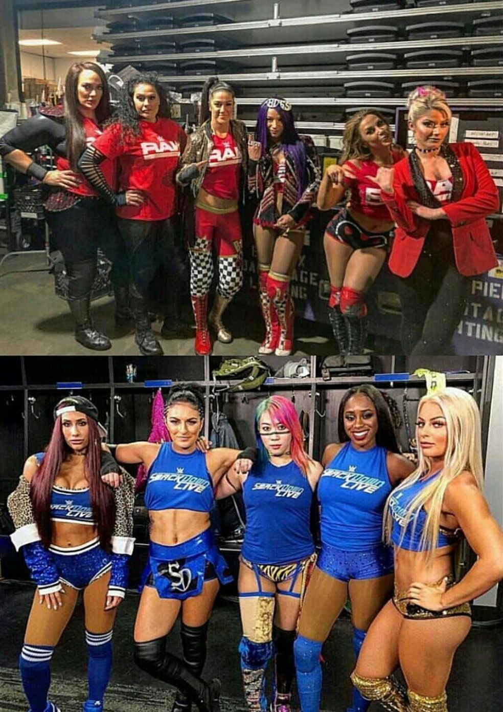 Survival Series 2018 Smackdown Live Vs Raw Womens Tag -8425